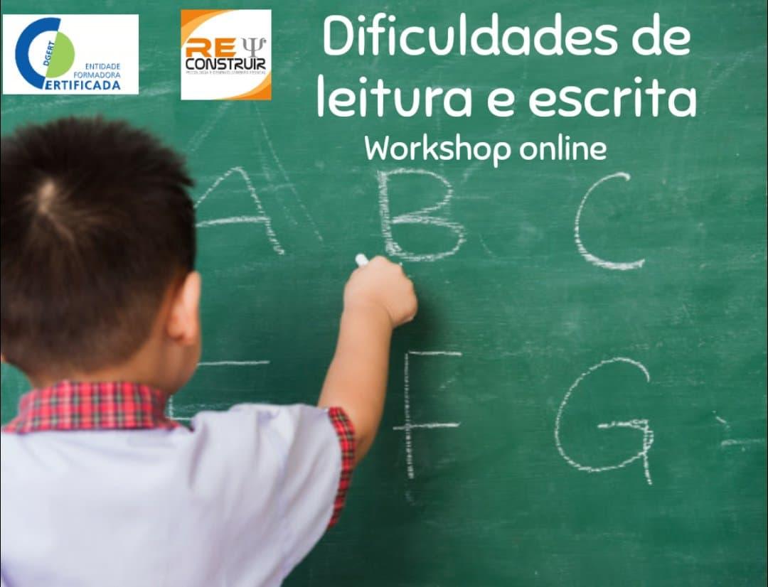 ReConstruir - Psicologia & Desenvolvimento Pessoal - Dificuldades de Leitura e Escrita